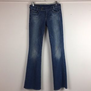 Citizens of Humanity Extended Tab Flare Jeans